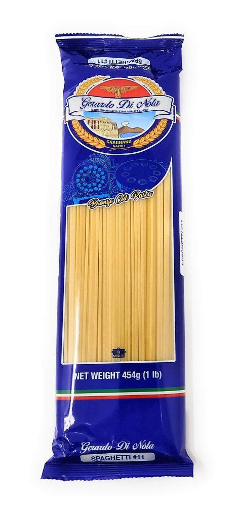 package of Gerardo Di Nola spaghetti